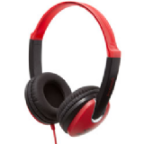 Groov-e Kidz Stereo Headphones Red Black